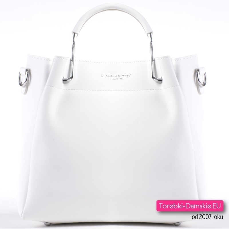 Elegancka biała torebka