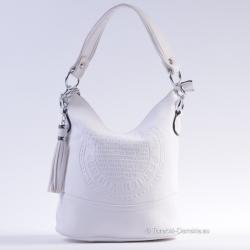 Zgrabna, biała torebka...