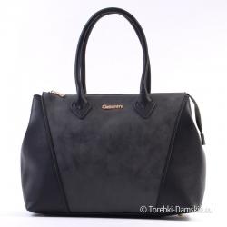 Czarna torba damska 2 w 1