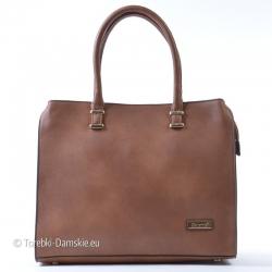 Teczka - kuferek A4 w kolorze brązowym - duża, A4