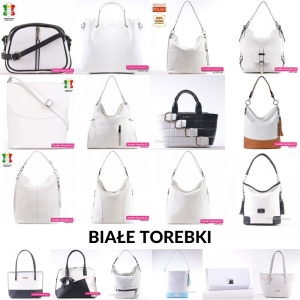 Białe torebki
