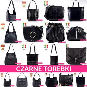 Czarne torebki