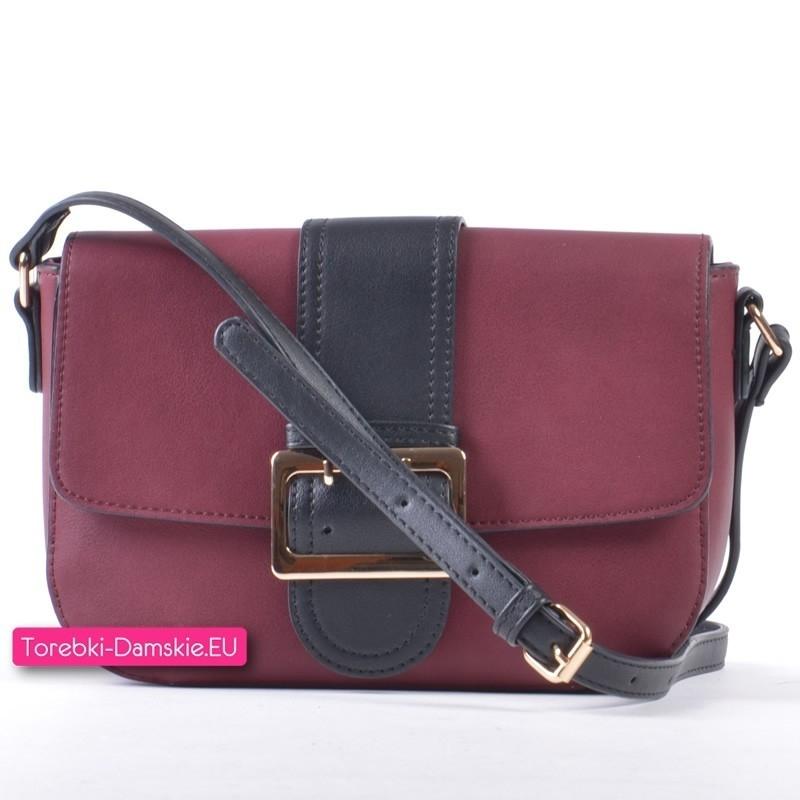 torebka w kolorze burgund