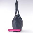Czarna torebka na ramię albo do przewieszenia