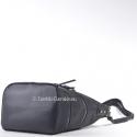 Czarna torebka z suwakami