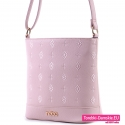 Oryginalna torebka Nobo w kolorze różowym pastelowym