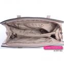 Różowa torebka na ramię w modnych pastelowych odcieniach - brudny róż