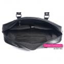 Czarna damska torba na laptopa - aktówka
