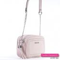 Modna różowa torebka w odcieniu pastelowym