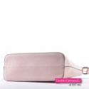 Beżowo - różowa torebka w najmodniejszych odcieniach