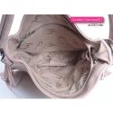Różowa pastelowa torebka na ramię