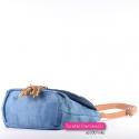 Jeansowa torebka z chwostami