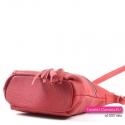 Skórzana czerwona torebka crossbody