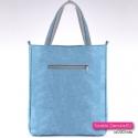 Błęktina prostokątna duża torba shopper
