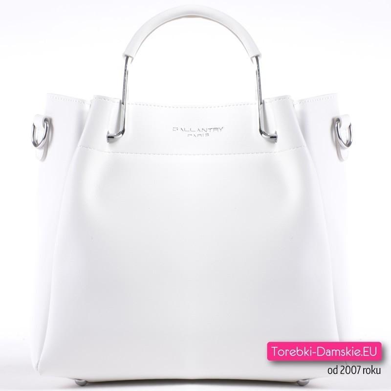 c75bed585c0b9 Elegancka biała torebka damska