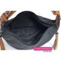 Zamykana szczelnie suwakiem torebka z 3 kieszeniami wewnętrznymi