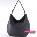 Czarna torebka damska z kieszonką