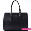 Kuferek - czarna torba / teczka A4