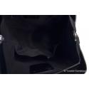 Stylowa torba skórzana - rozkładana
