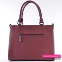Bordowa torebka w modnym odcieniu