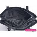 Wnętrze torby czarne - dwie osobno zamykane komory