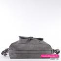 Plecako - torebka w kolorze grafitowym