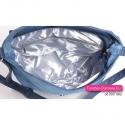 Jeansowa niebieska torebka