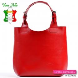 1a4f83c066e4e Duża skórzana torba damska włoska L Artigiano - wysyłka gratis