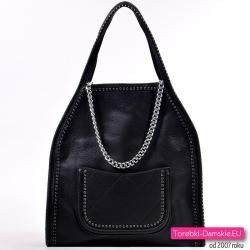 d111391c2b342 Modne czarne torebki damskie: sklep internetowy - duże i małe