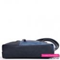 Mała torebka crossbody / raportówka z płaskim spodem