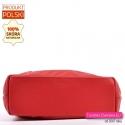 Funkcjonalna duża torba shopper z płaskim spodem usztywnionym