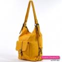 Żółta torba damska na lato
