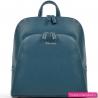 Zielononiebieski plecak damski - modny kolor morski