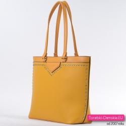 Duża torba w kolorze bahama yellow