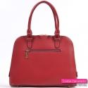 Elegancka czerwona torebka damska