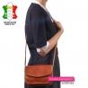Brązowa torebka z luksusowej skóry w pięknym odcieniu