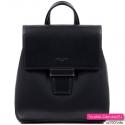 Plecak damski czarny z klapą kolekcja 2020
