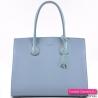 Błękitna torebka damska - kuferek David Jones