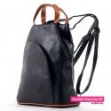 Plecak damski czarny w cenie promocyjnej