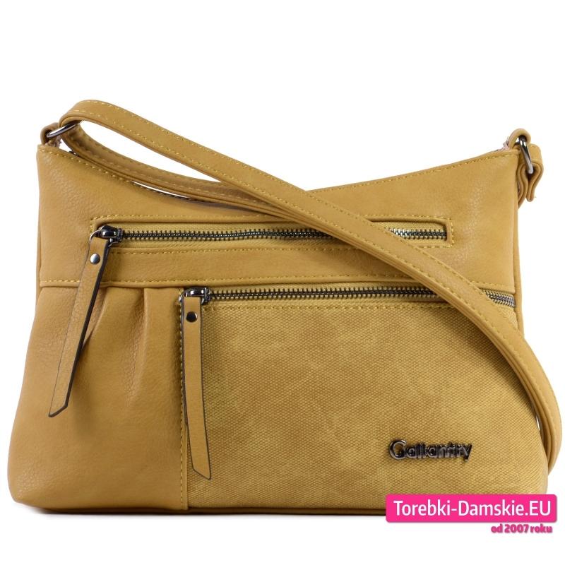 Żółta torebka crossbody w modnym odcieniu - 79,00 zł