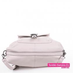 Torbo plecak z paskiem wzmacniającym od spodu
