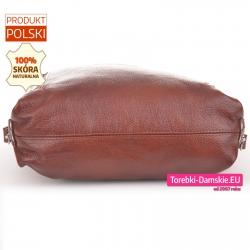 Plecak i torba typu worek z miękkiej skóry bez usztywnianego spodu