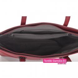 Duża torba damska na laptopa, segregator, teczkę A4 z 5 kieszeniami wewnętrznymi