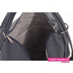 Torebka 2 w 1 z funkcją plecaka z kieszeniami wewnątrz