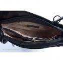 Czarna torebka - plecak skórzany w jednym