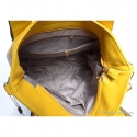 Duża żółta torba damska - mieści A4, ładny odcień