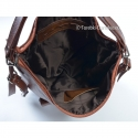 Funkcjonalny torebko-plecak damski ze skóry