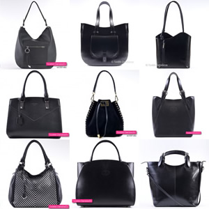 6335d8f8116ab Modne czarne torebki damskie: sklep internetowy - duże i małe