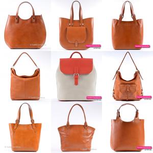 Pomarańczowe i rude torebki damskie