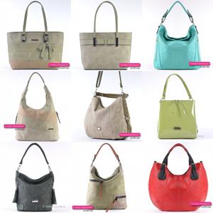 Zielone torebki damskie